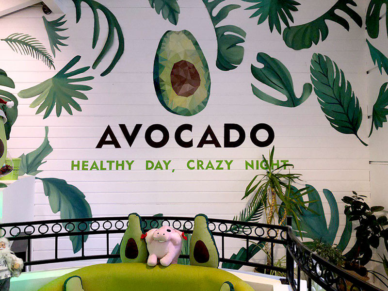 Healthy day, crazy night — кафе Avocado на Липках в Киеве
