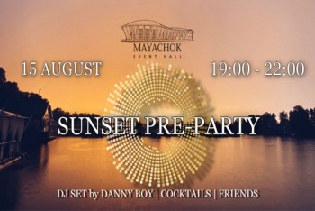 Sunset pre-party в ресторане
