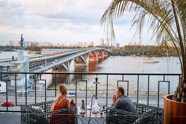Вид с крыши: 16 панорамных ресторанов Киева